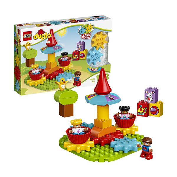 Купить LEGO DUPLO 10845 Конструктор ЛЕГО ДУПЛО Моя первая карусель, Конструктор LEGO