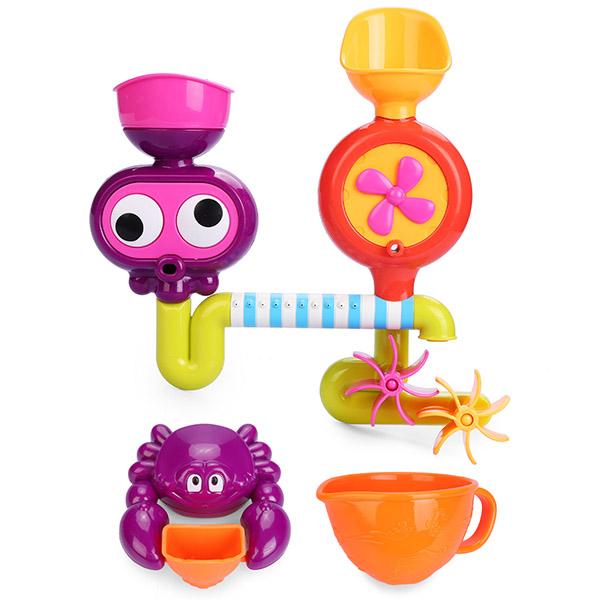 """Happy Baby 32005 Набор игрушек для ванной """"EUREKA"""""""