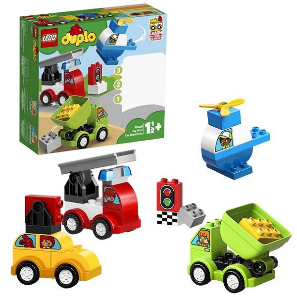 Купить Lego Duplo 10886 Конструктор Лего Дупло Мои первые машинки, Конструкторы LEGO