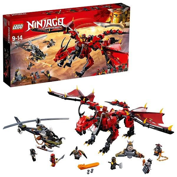 Lego Ninjago 70653 Конструктор Лего Ниндзяго Первый страж, арт:154184 - Ниндзяго, Конструкторы LEGO