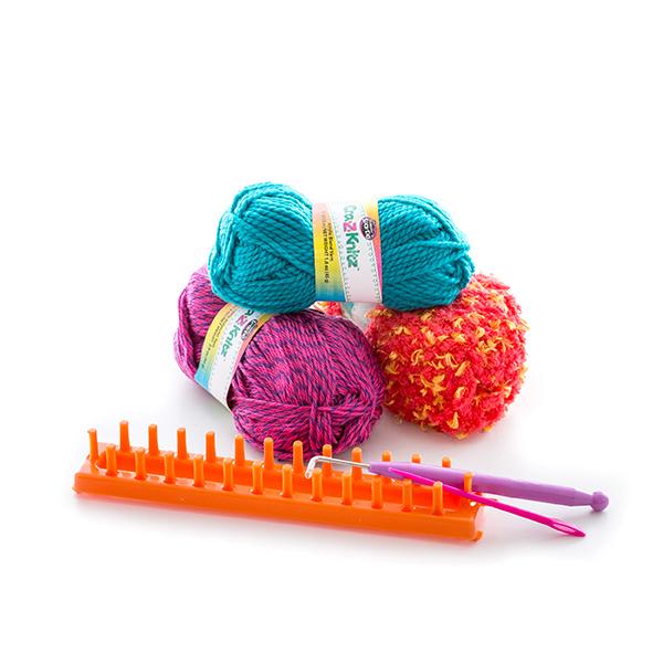 купить Cra Z Knitz 17121 крейзи нитс набор для вязания шарф в