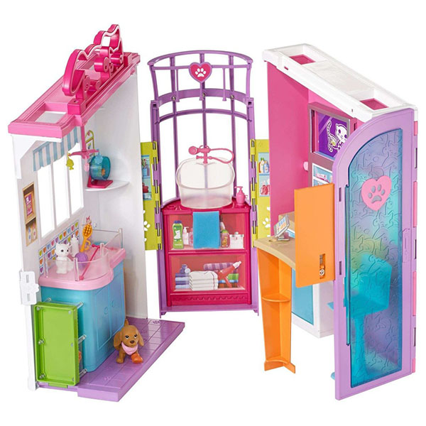 Mattel Barbie FBR36 Барби Ветеринарный центр - Куклы и аксессуары