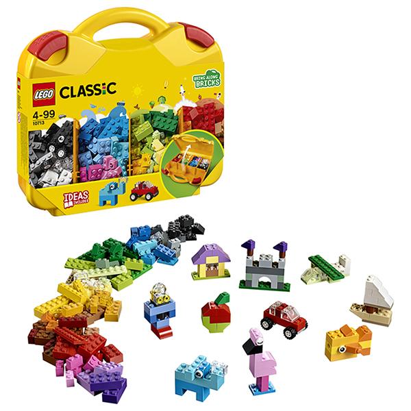 Купить LEGO Classic 10713 Конструктор ЛЕГО Классик Чемоданчик для творчества и конструирования, Конструкторы LEGO