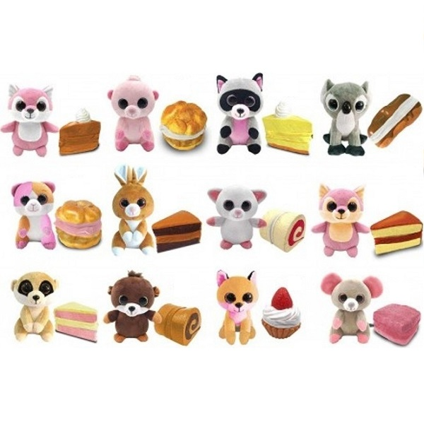 Купить Sweet pups 1712006 Игрушка-трансформер Wild cakes 11 см. (в ассортименте), Игровые наборы и фигурки для детей Sweet pups