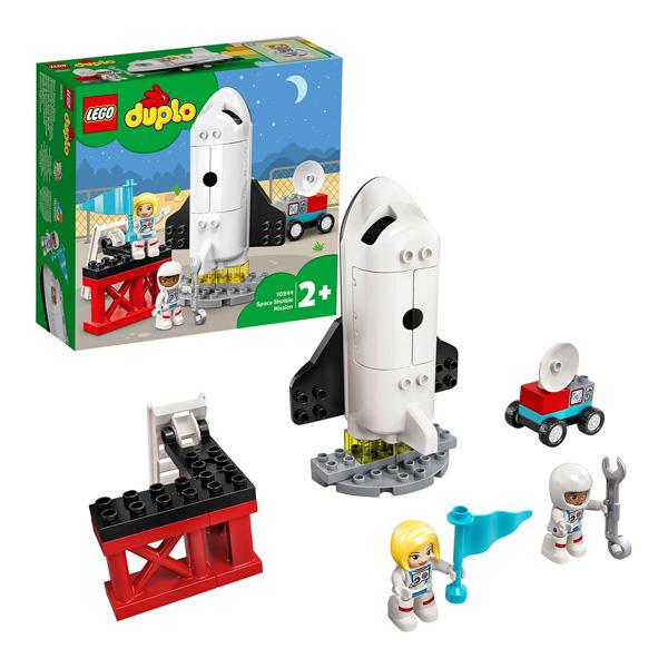 Купить LEGO DUPLO 10944 Конструктор ЛЕГО ДУПЛО Экспедиция на шаттле, Конструкторы LEGO