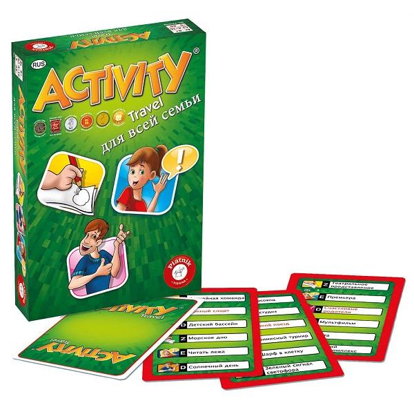 Piatnik 793295 Настольная игра Activity (компактная для всей семьи) - Настольные игры