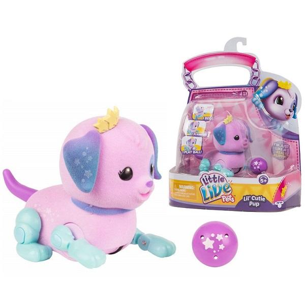 Little Live Pets 28666 Щенок с мячиком Созвездие - Интерактивные игрушки