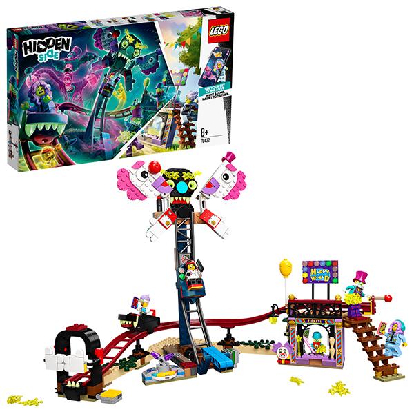 Конструкторы LEGO — LEGO Hidden Side 70432 Конструктор ЛЕГО Призрачная ярмарка