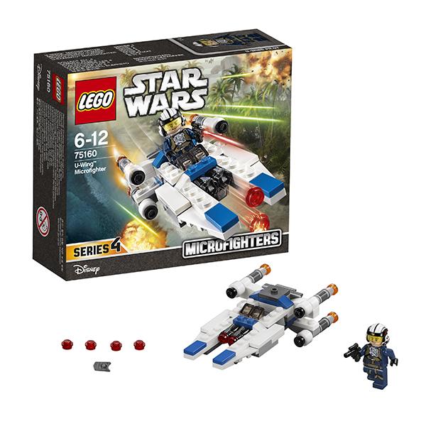 Купить LEGO Star Wars 75160 Конструктор ЛЕГО Звездные Войны Микроистребитель типа U, Конструктор LEGO