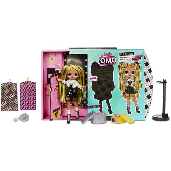 Купить L.O.L. Surprise 565123 Кукла ЛОЛ OMG Alt Grrrl 2 волна 23 см., Куклы и пупсы LOL