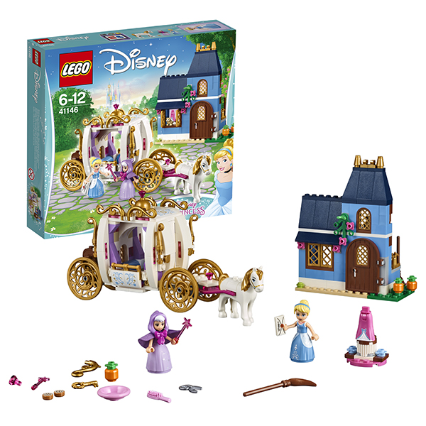 Lego Disney Princess 41146 Конструктор Лего Принцессы Сказочный вечер Золушки, арт:149825 - LEGO, Конструкторы для мальчиков и девочек