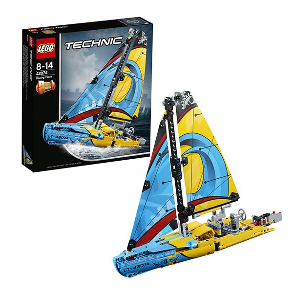 Купить LEGO Technic 42074 Конструктор ЛЕГО Техник Гоночная яхта, Конструкторы LEGO