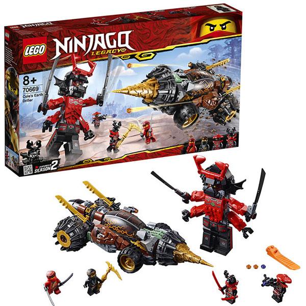Купить Lego Ninjago 70669 Конструктор Лего Ниндзяго Земляной бур Коула, Конструкторы LEGO