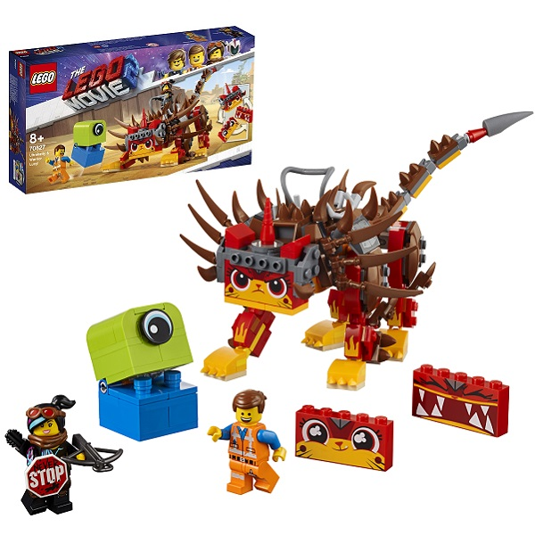 Купить LEGO Movie 2 70827 Конструктор ЛЕГО Фильм 2 Ультра-Киса и воин Люси, Конструкторы LEGO