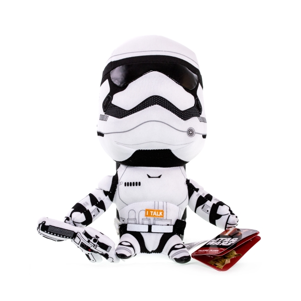 Мягкая игрушка StarWars Star Wars SW01921 Звездные войны Штурмовик плюшевый со звуком