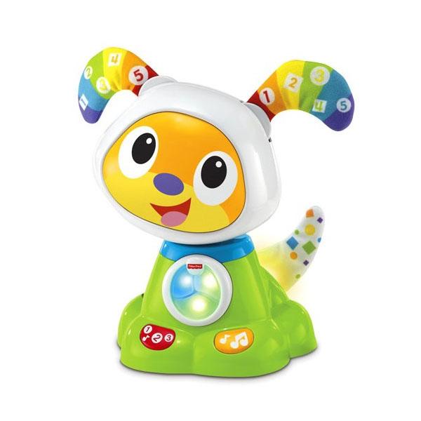 Купить Mattel Fisher-Price FBC96 Фишер Прайс Щенок Робота Бибо, Развивающие игрушки для малышей Mattel Fisher-Price
