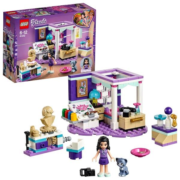 Lego Friends 41342 Конструктор Лего Подружки Комната Эммы, арт:154197 - Подружки, Конструкторы LEGO