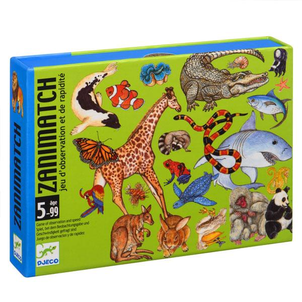 Купить DJECO DJ05153 Детская настольная карточная игра Занимач