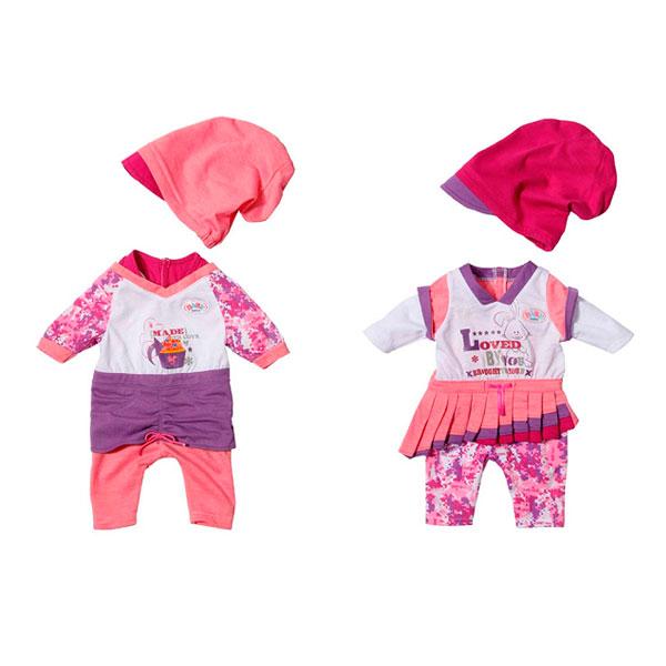 Zapf Creation Baby born 819-371 Бэби Борн Одежда модная, 2 асс., кор. от Toy.ru