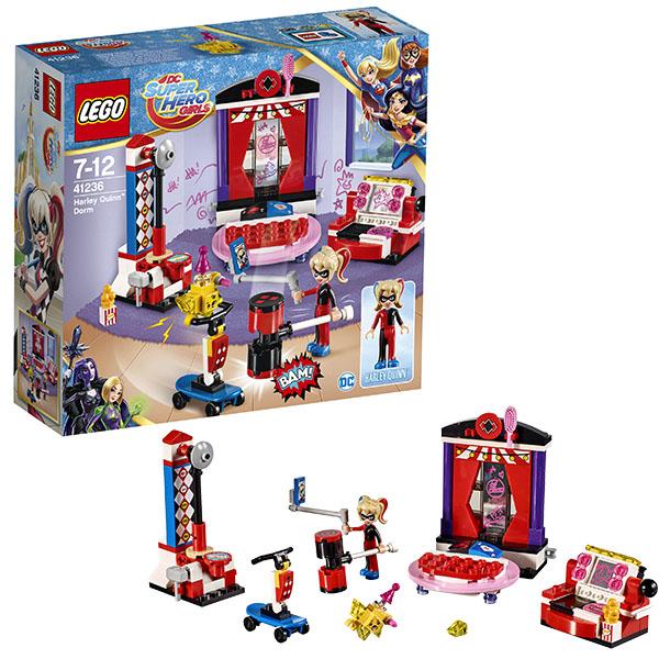Купить LEGO Super Hero Girls 41236 Конструктор ЛЕГО Супергёрлз Дом Харли Квинн, Конструктор LEGO