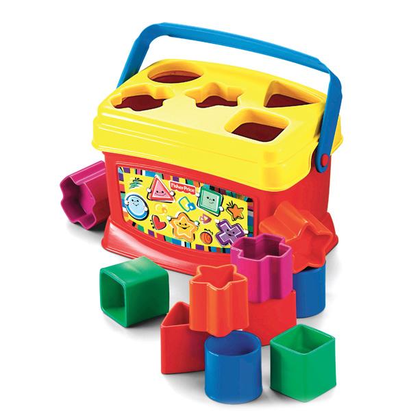 Купить Mattel Fisher-Price K7167 Фишер Прайс Первые кубики малыша, Игрушка для малышей Mattel Fisher-Price