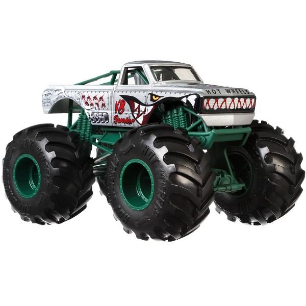 Игрушечные машинки и техника Mattel Hot Wheels GBV36 Хот Вилс Монстр трак 1:28 фото