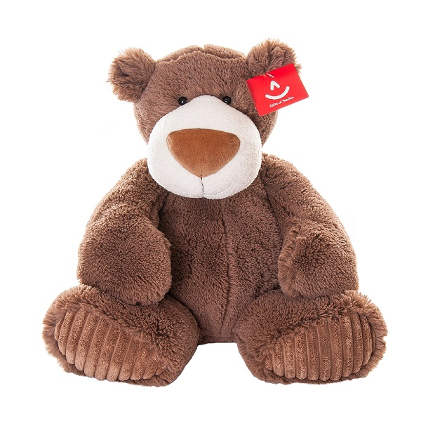 Купить Aurora 120-02 Аврора Медведь Мокко 38 см, Мягкая игрушка Aurora