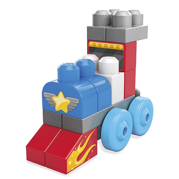 Mattel Mega Bloks CNH09 Мега Блокс Набор обучающего конструктора - Игрушки для малышей