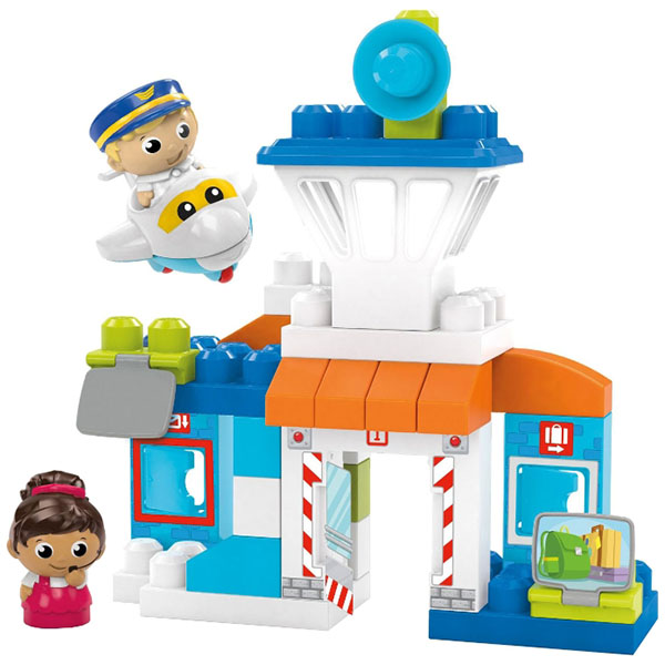 Конструктор Mattel Mega Bloks - Конструктор для малышей, артикул:146978