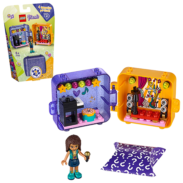 Купить LEGO Friends 41400 Конструктор ЛЕГО Подружки Игровая шкатулка Андреа, Конструкторы LEGO