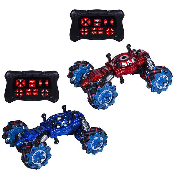 Купить Wincars YK-2033 Машина Акробат на катках с подвижными осями, ездит боком, звук, свет, Р/У, USB-заряд, Радиоуправляемая машинка ТМ Wincars
