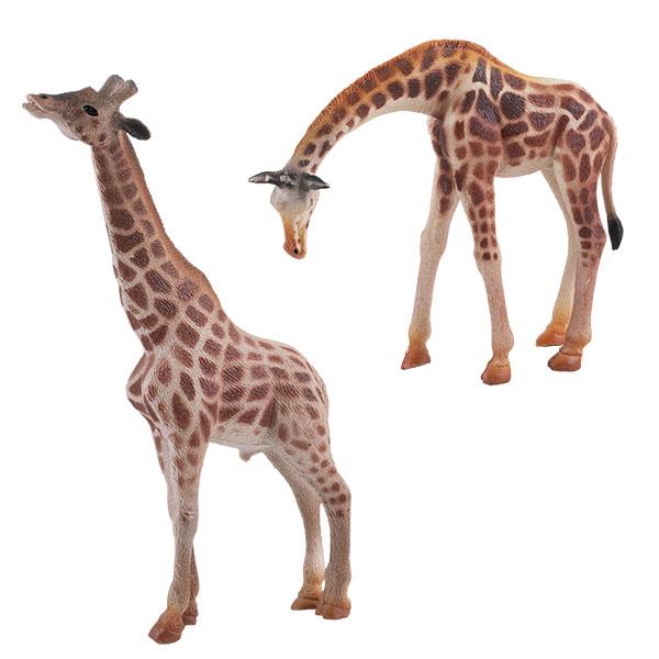 """Игровые наборы и фигурки для детей Игрики ZOO TAV008 Фигурка """"Жираф"""", 2 вида (в ассортименте) фото"""