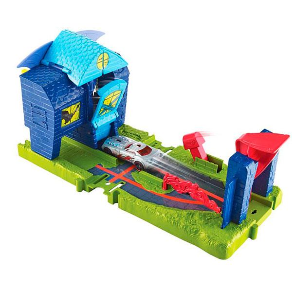 Купить Mattel Hot Wheels FNB08 Хот Вилс Игровой набор Сити с монстрами-злодеями, автотрек Mattel Hot Wheels