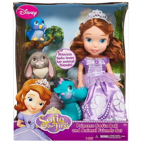 Кукла с питомцем Disney Princess от Toy.ru