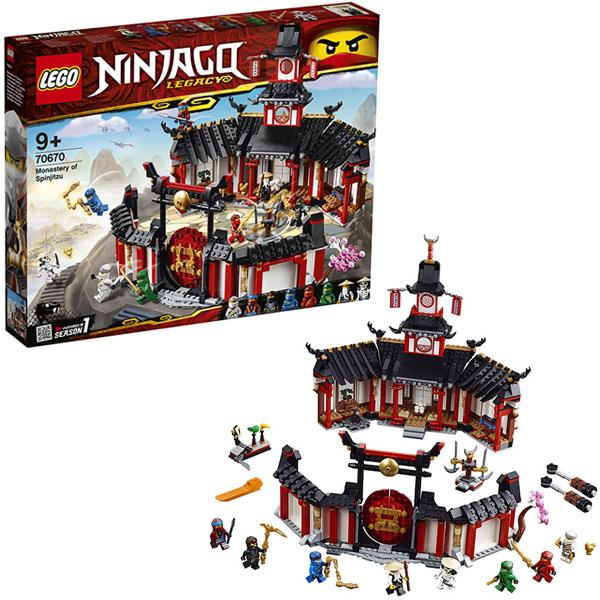 Купить LEGO Ninjago 70670 Конструктор ЛЕГО Ниндзяго Монастырь Кружитцу, Конструкторы LEGO