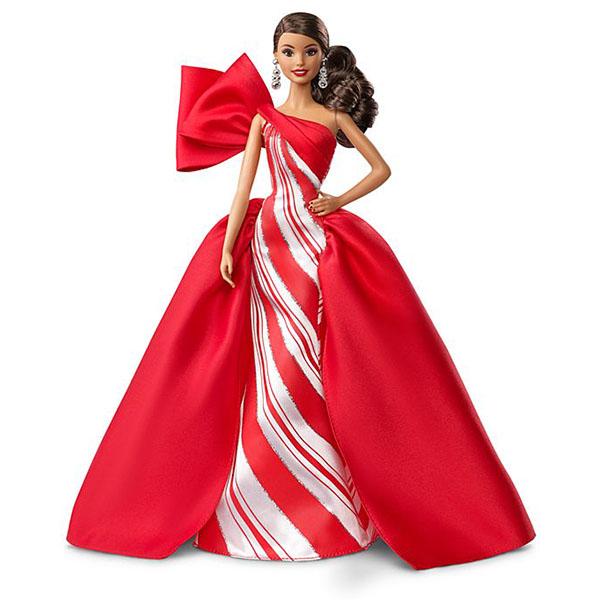 Купить Mattel Barbie FXF03 Барби Праздничная кукла брюнетка, Куклы и пупсы Mattel Barbie