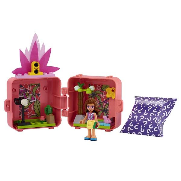 LEGO Friends 41662 Конструктор ЛЕГО Подружки Кьюб Оливии с фламинго по цене 699