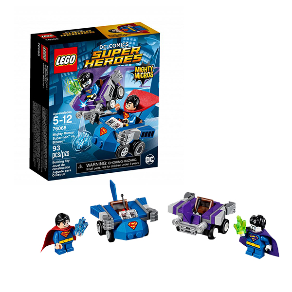 Lego Super Heroes Mighty Micros 76068 Конструктор Лего Супер Герои Супермен против Бизарро - Конструкторы LEGO