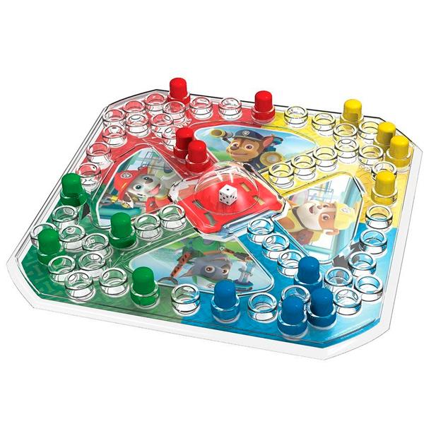 Spin Master 6036439 Настольная игра 2-в-1 с кубиком и фишками   карточки Memory Щенячий Патруль