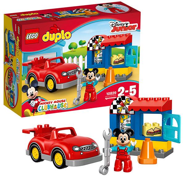 Купить Lego Duplo 10829 Лего Дупло Мастерская Микки, Конструктор LEGO