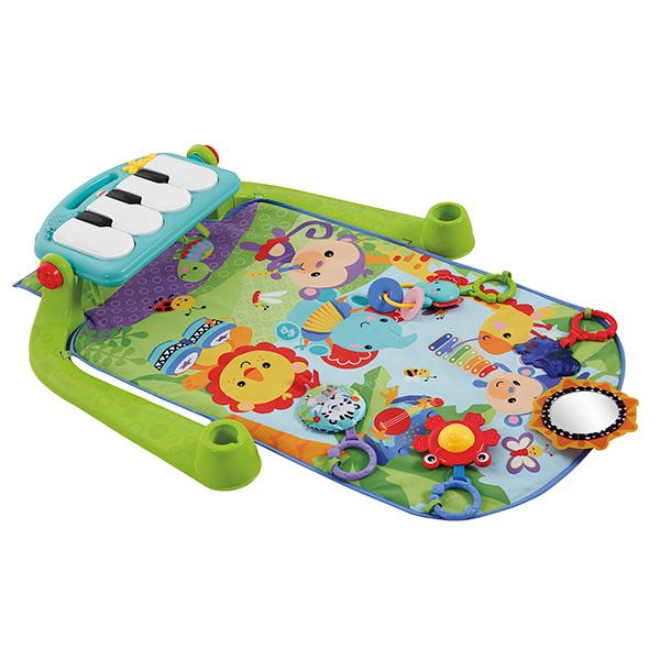 Купить Mattel Fisher-Price BMH49 Фишер Прайс Коврик игровой Пианино , Развивающие игрушки для малышей Mattel Fisher-Price
