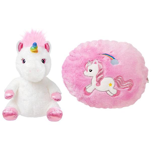 Купить Aurora 170515A Аврора Игрушка мягкая Единорог-подушка 40 см, Мягкие игрушки Aurora