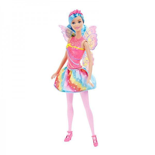 Купить Mattel Barbie DHM56 Барби Кукла-принцесса Rainbow Fashion, Кукла Mattel Barbie