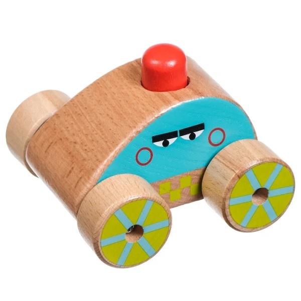 Деревянные игрушки Lucy&Leo LL156 Машинка-пищалка фото