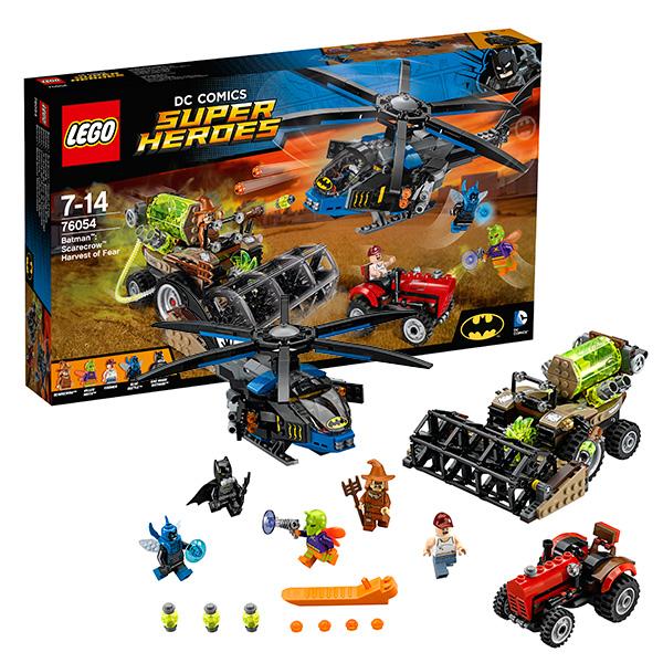Купить LEGO Super Heroes 76054 Конструктор ЛЕГО Супер Герои Бэтмен: Жатва страха, Конструктор LEGO