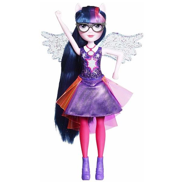 Купить Hasbro My Little Pony E1984/E2880 Кукла интерактивная Спаркл Equestria Girls