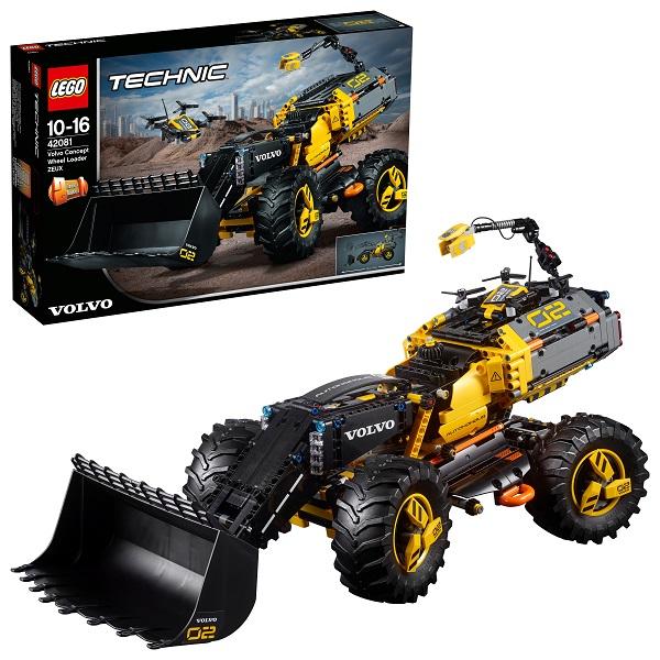 Купить LEGO Technic 42081 Конструктор ЛЕГО Техник VOLVO колёсный погрузчик ZEUX, Конструкторы LEGO