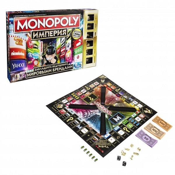 Купить Hasbro Monopoly B5095 Настольная игра Монополия Империя (обновленная), Настольная игра Hasbro Monopoly