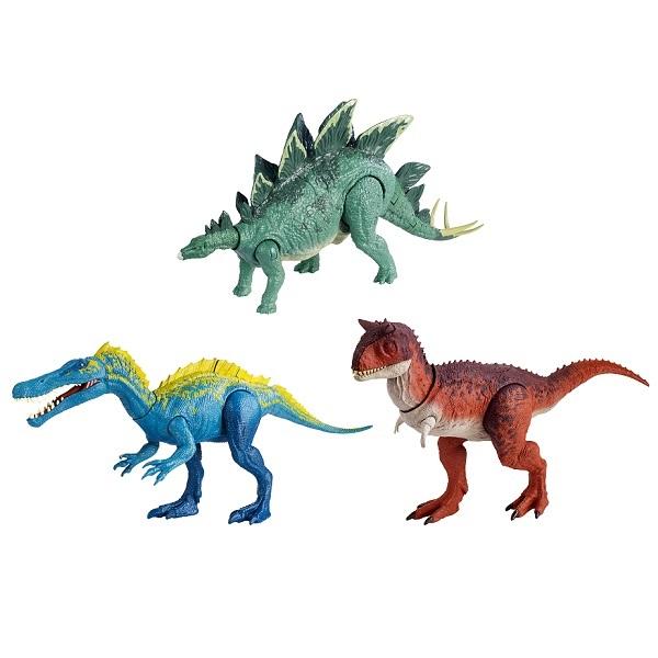 Купить Mattel Jurassic World FMW87 Фигурки динозавров Боевой удар (в ассортименте), Игровые наборы и фигурки для детей Mattel Jurassic World