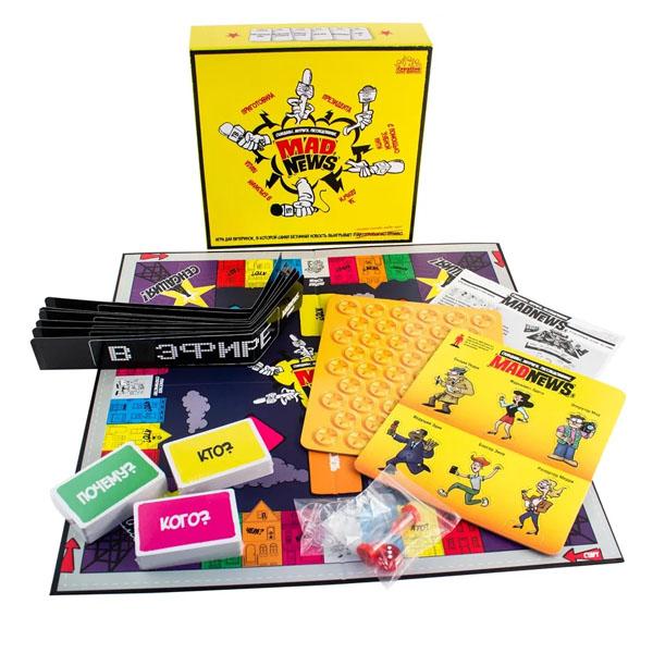 Купить YWOW GAMES 1900012 Mad News Мэд Ньюс , Настольная игра YWOW GAMES